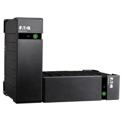 """image produit Eaton Ellipse ECO 800 USB DIN - Onduleur (montable sur Rack/Externe) - CA 230 V - 500 Watt - 800 VA - USB - connecteurs de Sortie : 4-2U - 19"""""""