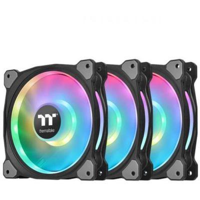 image Ventilateur Thermaltake Riing Duo 14 RGB - 140mm 3er Set