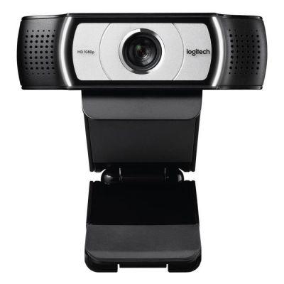 image Logitech C930e Business Webcam, Appel Vidéo Full HD 1080p/30ips, Correction/Mise au Point Automatiques, Zoom 4X, Volet de Protection, Skype Business, WebEx, Lync, Cisco, PC/Mac/Portable/Macbook/Chrome