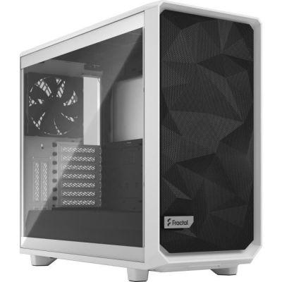 image FRACTAL DESIGN Boitier PC Meshify 2 Blanc Panneau Verre Trempé Transparent(FD-C-MES2A-05)
