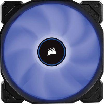 image Corsair AF140, Air Series, 140mm LED Ventilateur Silencieux - Bleu (Pack Double)