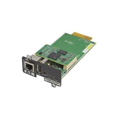 image Eaton Network M2 - Carte de Supervision distante - Gigabit Ethernet x 1 - pour 5P 1500 RACKMOUNT