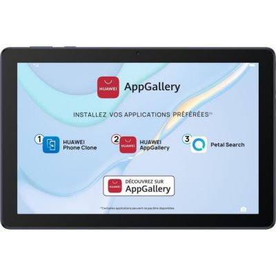 "image HUAWEI MatePad T 10 Wi-Fi Tablette, Ecran HD de 9.7"", Processeur Kirin 710A, 2Go RAM, 16Go ROM, Double Haut-parleur, EMUI 10.1 & AppGallery, Deepsea Blue"