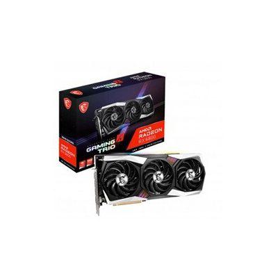 image MSI Radeon RX 6800 Gaming X Trio Carte Graphique 16 Go GDDR6, RGB Mystic Light AMD, 3 x DisplayPort, HDMI, Tri Frozr Système de Refroidissement à 2 Ventilateurs
