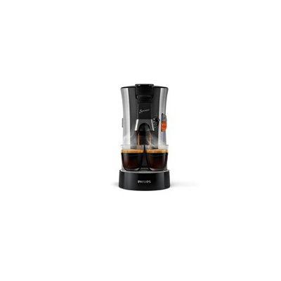 image Philips CSA250/11 Machine à Café à Dosettes SENSEO Select Eco, Intensity Plus, Crema Plus, Fonction Memo - Acier Brossé