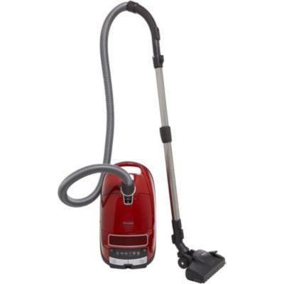 image Miele Aspirateur Complete C3 Excellence EcoLine Rouge Mangue 4.5 Litre 550 Watt