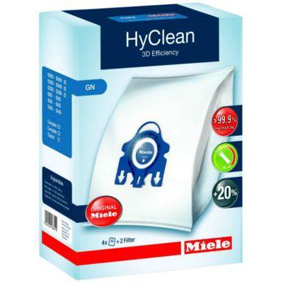 image Miele - 9917730 - Hyclean 3D Efficiency - Sac Aspirateur - set de 4 + 2 filtres