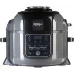 image produit Ninja Foodi [OP300EU] Autocuiseur et Multicuiseur, Tendercrisp, Friteuse à Air, Mijoteuse, 6 L, Noir et Gris (touches et commandes en anglais) - livrable en France