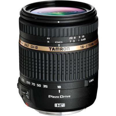 image Tamron B008TS E Objectif 18-270 mm f/3,5-6,3 Di II VC PZD pour Appareil photo Nikon Noir
