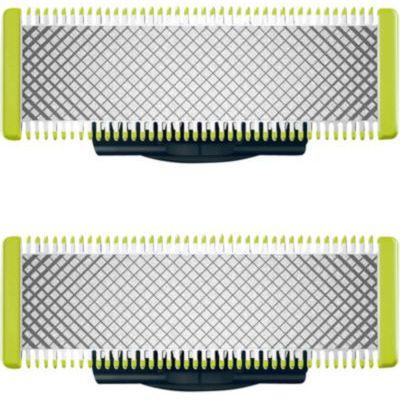 image Philips QP220/50 Lames de Remplacement OneBlade x2 (Durent Jusqu'à 8 Mois)