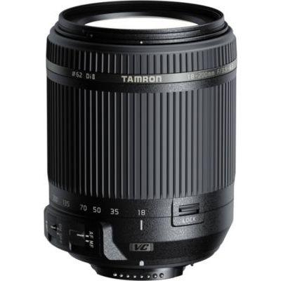 Tamron Objectif 18-200mm F/3.5-6.3 Di II VC Noir - Monture Canon
