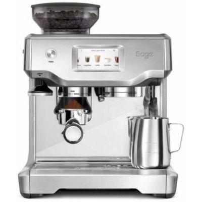 image SAGE SES880 the Barista Touch, Machine à Expresso avec Broyeur et écran tactile, Acier inoxydable brossé