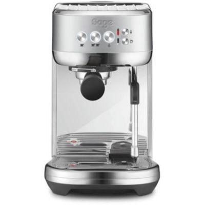 image SAGE SES500 the Bambino Plus, Machine à Expresso avec mousseur à lait automatique, Acier inoxydable brossé