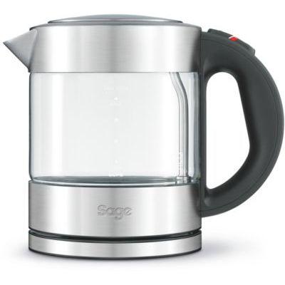 image SAGE SKE395 the Compact Kettle Pure, Bouilloire 1 Litre en acier inoxydable et verre