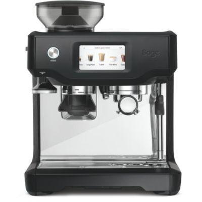 image SAGE SES880 the Barista Touch, Machine à Expresso avec Broyeur et écran tactile, Noir Mat