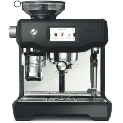 image SAGE SES990 the Oracle Touch, Machine à Expresso avec Broyeur, texture et température du lait programmables, écran tactile, Noir Mat