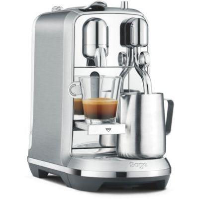 image Sage Appliances Nespresso Creatista Plus Cafetière Chrome SNE800BSS
