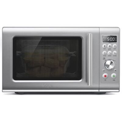 image Sage Appliances SMO650 the Compact Wave, micro-ondes compact, Argent