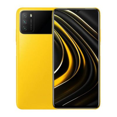 "image POCO M3 Smartphone RAM 4GB ROM 64GB 48MP Triple caméra 6000mAh Batterie Large 1080P FHD+ Display 6.53"" FHD+ Dual Speakers 3.5mm Headphone Jack Jaune"