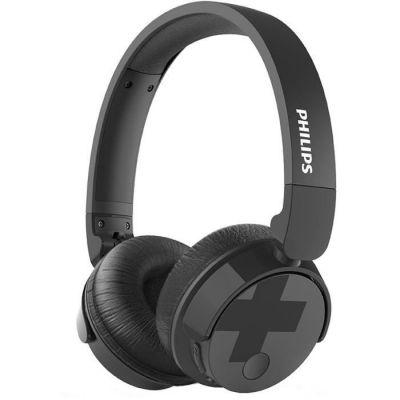 image Philips TABH305BK/00 - Casque audio Bluetooth (Basse volumineuse, suppression active du bruit, autonomie de 18 heures, pliable) Noir