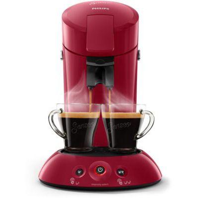 image Philips HD6554/91 Machine à Café à Dosettes Senseo Original Rouge Intense 0, 75 Litre