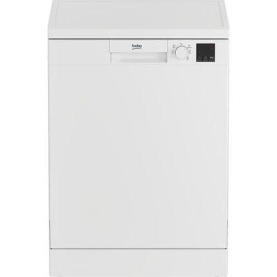 image Lave-vaisselle pose libre BEKO LVV4729W - 14 couverts - Largeur 60 cm - Classe A++ - 47dB - Cuve inox - Blanc