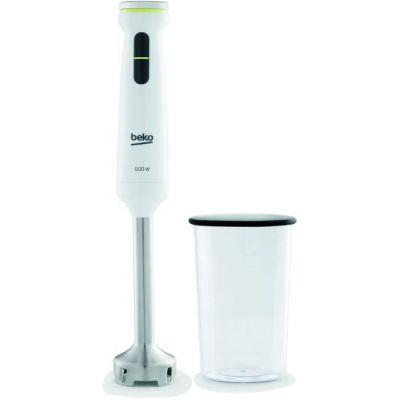 image BEKO Mixeur plongeant + verre doseur - HBS7600W - Metropolis Line - 600W