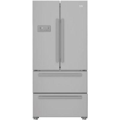 BEKO REM60SN Réfrigérateur multiportes - 539 L (387+152) - Froid ventilé - NeoFrost - A+ - Gris acier