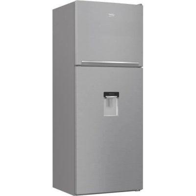 image BEKO - RDNE455K30DXBN - Réfrigérateur congélateur haut - 402 L (309+93) - Froid ventilé - NeoFrost - A++ - Métal brossé