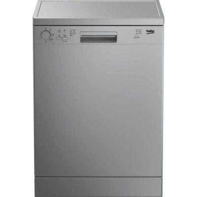 image Lave-vaisselle pose libre BEKO LVP63S2 - 13 couverts - Largeur 60 cm - Classe A+ - 47 dB - Cuve inox - Silver