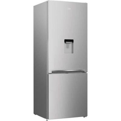 image BEKO RCNE560K40DSN Réfrigérateur congélateur bas - 497 L (352+145) - Froid ventilé - NeoFrost - A++ - Gris acier