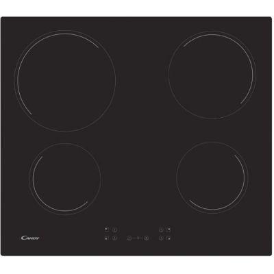 image Candy CH64CCB Plaque vitrocéramique, 6500 W, verre et céramique, 1800, 10 vitesses, noir