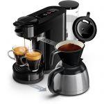 image produit Philips HD6592/61 Machine à café SENSEO Switch 2 en 1 Noir (machine à dosettes + machine à café filtre)