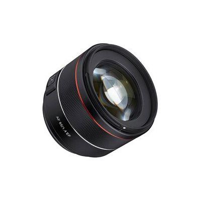 image produit Samyang AF 85mm F1.4 EF - 85 mm - Objectif autofocus Plein Format pour Reflex Canon - livrable en France