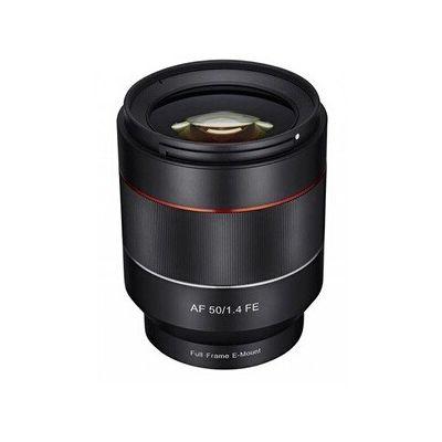 image produit samyang 1af050F 14sfe 50mm F1.4objectif de autofocus AF pour Sony E-mount connecteur noir