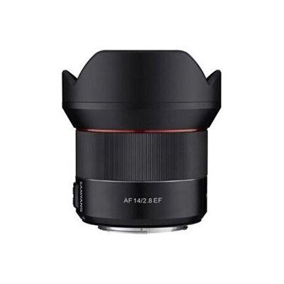 image Samyang AF 14mm F2.8 RF - Objectif autofocus Ultra Grand Angle avec Distance focale Fixe de 14 mm et Monture RF pour appareils Photo Reflex Canon EOS R, EOS RP et Ra 22936 Noir