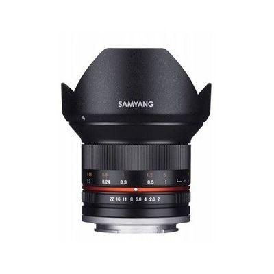 image Samyang Objectif pour Fuji X 12 mm F2 NCS CS Noir