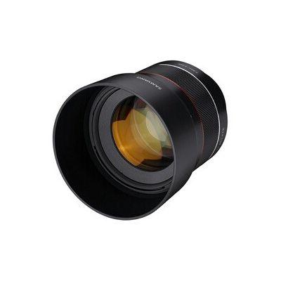 image produit Samyang AF 85 mm F1.4 Sony FE – 85mm Objectif autofocus Plein Format pour Sony Alpha sans Miroir Monture E - livrable en France