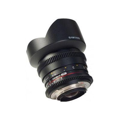 image Samyang 14 mm / T3,1 ED AS IF UMC VDSLR Objectifs pour Canon