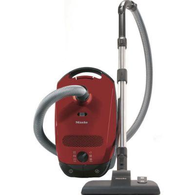 image Miele Classic C1 EcoLine Aspirateur traéneau avec sac, 550 W, 4,5 litres, Rouge