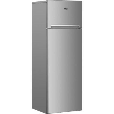 image BEKO RDSA280K30SN Réfrigérateur congélateur haut - 250 L (204+46) - Froid statique - MinFrost - A+ - Gris acier