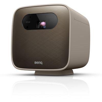 image BenQ GS2 Mini vidéoprojecteur portable sans fil pour l'extérieur, Google Cast et AirPlay, haut-parleur Bluetooth, WiFi, application Smart TV, HDMI, USB-C