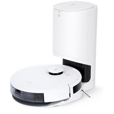 image ECOVACS N8 PRO+ Robot aspirateur laveur avec station d'aspiration automatique - fonction de balayage, détection d'obstacles en 3D, navigation laser dToF : App, Alexa, Google Home