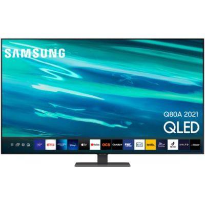 image TV QLED Samsung 55 pouces QE55Q80A (2021)
