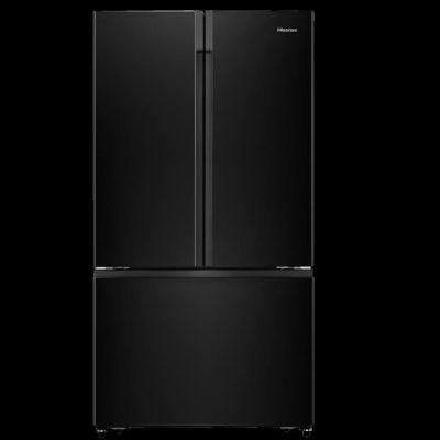 image HISENS RF750N4ABF - Réfrigérateur multi-portes - 528L (417L + 111L) - Froid ventilé total - A+ - L 91 cm x H 178 cm - Dark inox