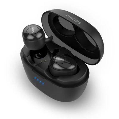 image Philips SHB2505BK/10 - Ecouteurs intra-auriculaires Bluetooth à réduction de bruit - 20h d'autonomie - Noir