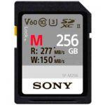 image produit Sony SF-M256 mémoire Flash 256 Go SD UHS-II Classe 10