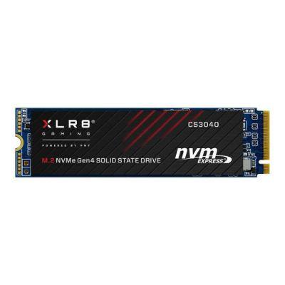 image PNY XLR8 CS3040 M.2 NVMe Gen4 x4 SSD Interne 500Go, Vitesse de Lecture jusqu'à 5600 Mo/s, Vitesse d'Ecriture jusqu'à 2600 Mo/s