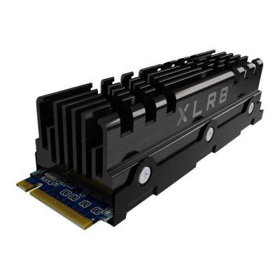 image PNY XLR8 CS3040 M.2 NVMe Gen4 x4 SSD Interne avec Heatsink 500Go, Vitesse de Lecture jusqu'à 5600 Mo/s, Vitesse d'Ecriture jusqu'à 2600 Mo/s