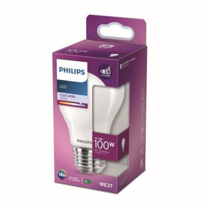 image Philips Ampoule LED Equivalent 100W E27 Blanc froid Non Dimmable